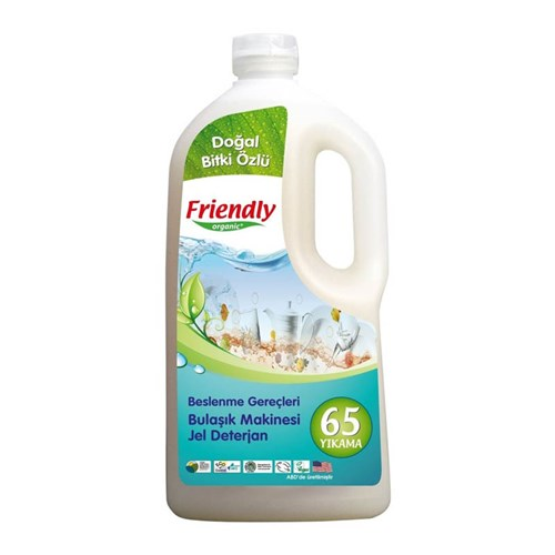 Friendly Organic Bulaşık Makinesi Jel Deterjan 1,183 Ml
