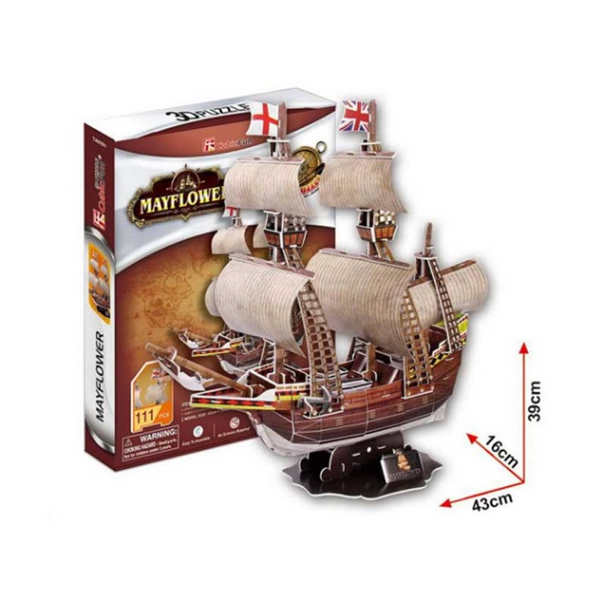 CUBIC FUN MAYFLOWER GEMİSİ 3D PUZZLE