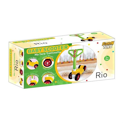 Furkan Toys Baby Rio 4 Teker Scooter