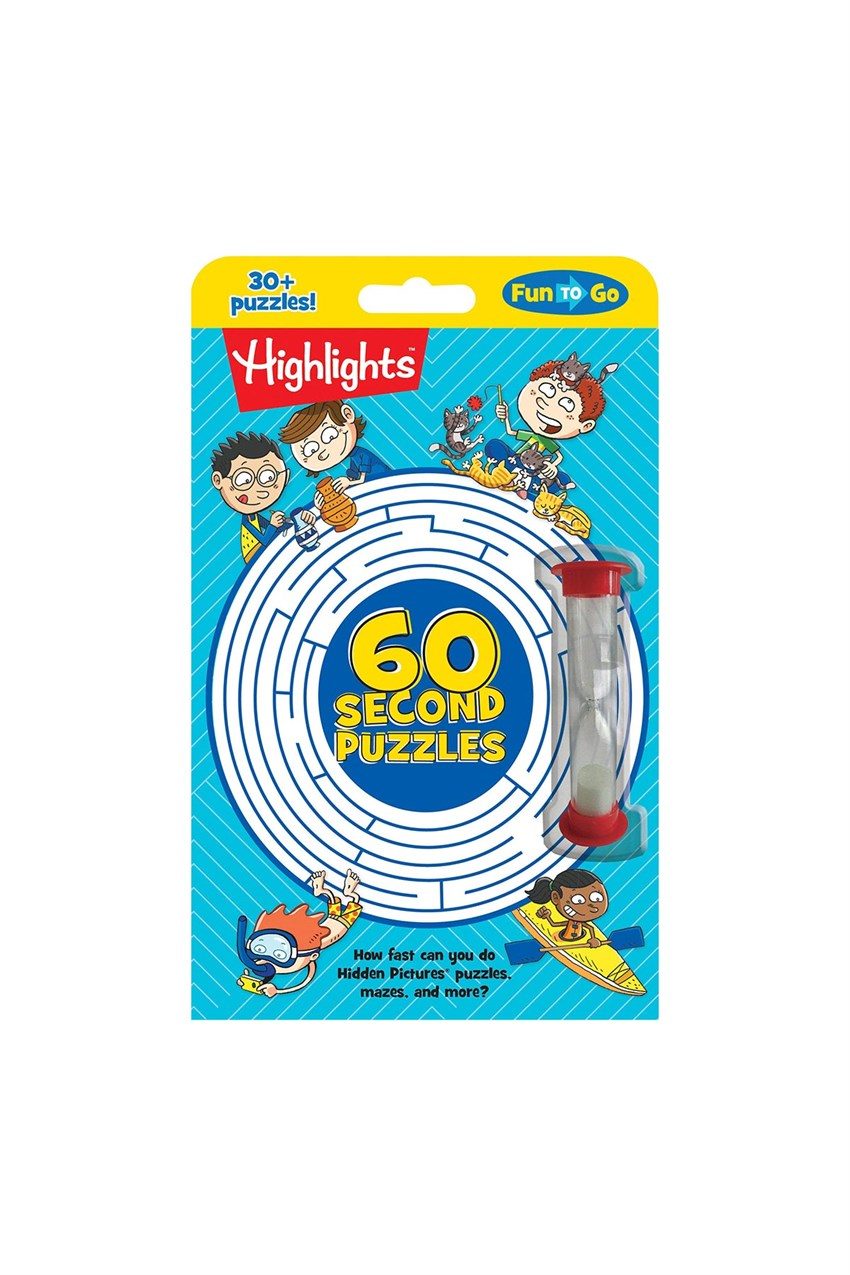 Highlights 60-Second Puzzles