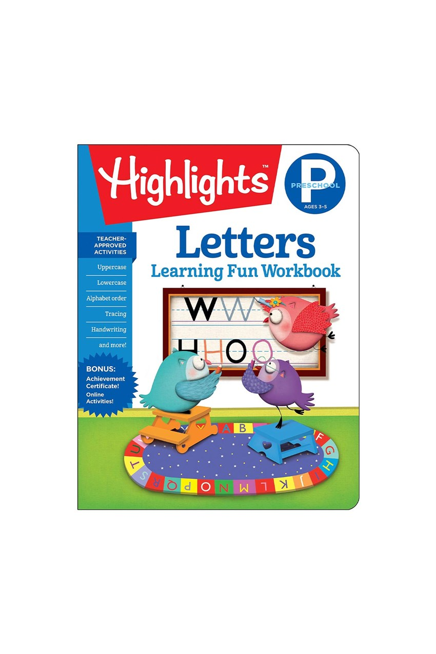 Highlights Preschool Letters