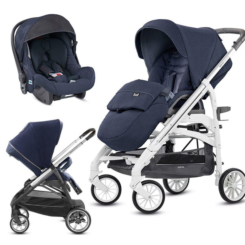 Inglesina Trilogy City Set Imperial Blue Imperial Blue