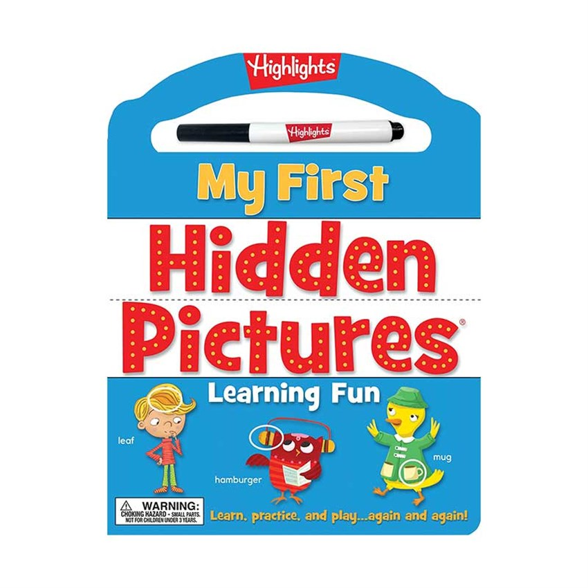 My First Hidden Pictures Learn Fun