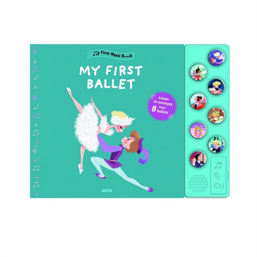 The Usborne BOU - My Amazing Ballet Music Book