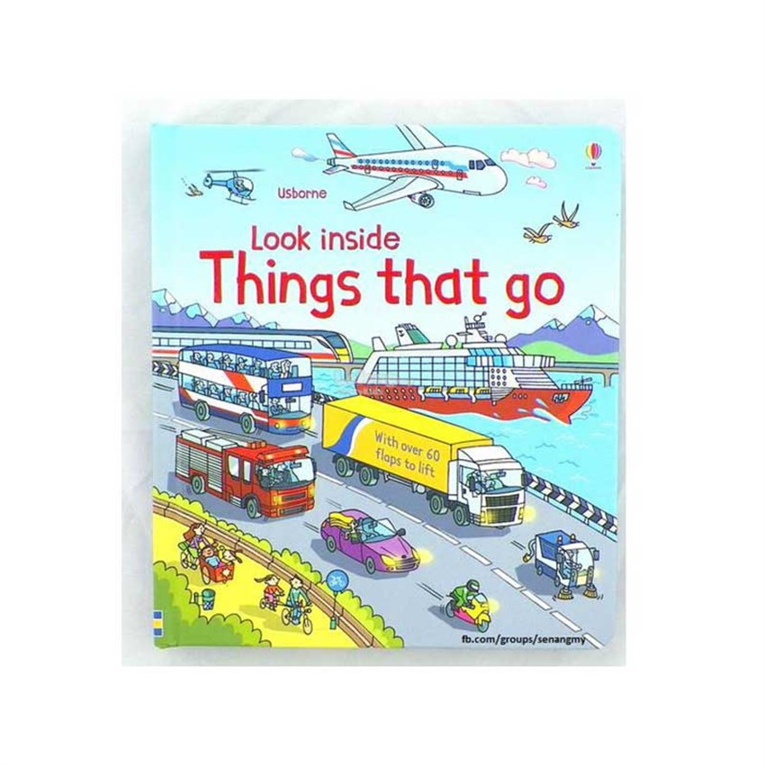 The Usborne Look Inside Things That Go