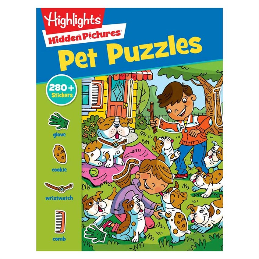 Pet Puzzles Sticker Hp