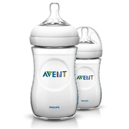 Philips Avent SCF693/27 Natural PP Biberon 260 ml 2' li