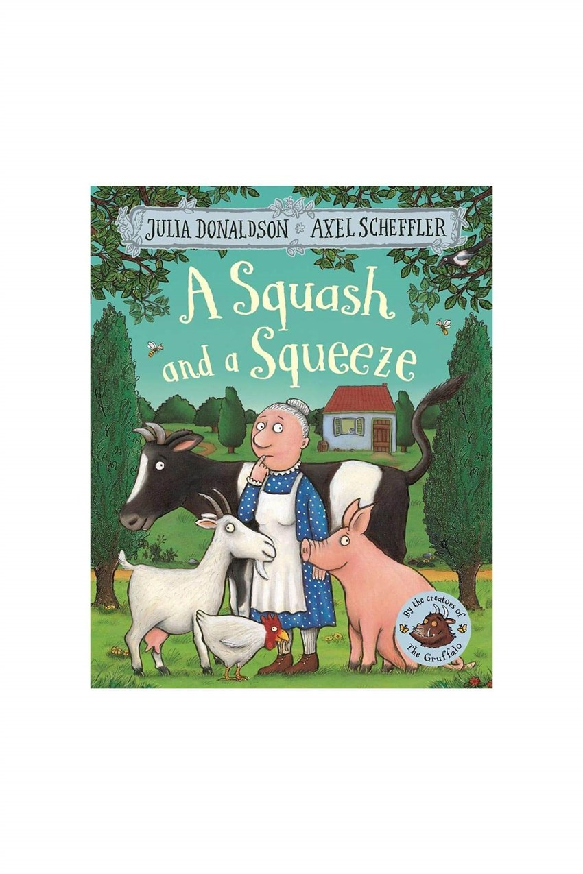 Pan MacMillan A Squash and a Squeeze Board Book