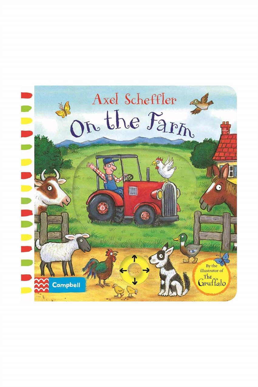 Pan MacMillan Axel Scheffler On the Farm