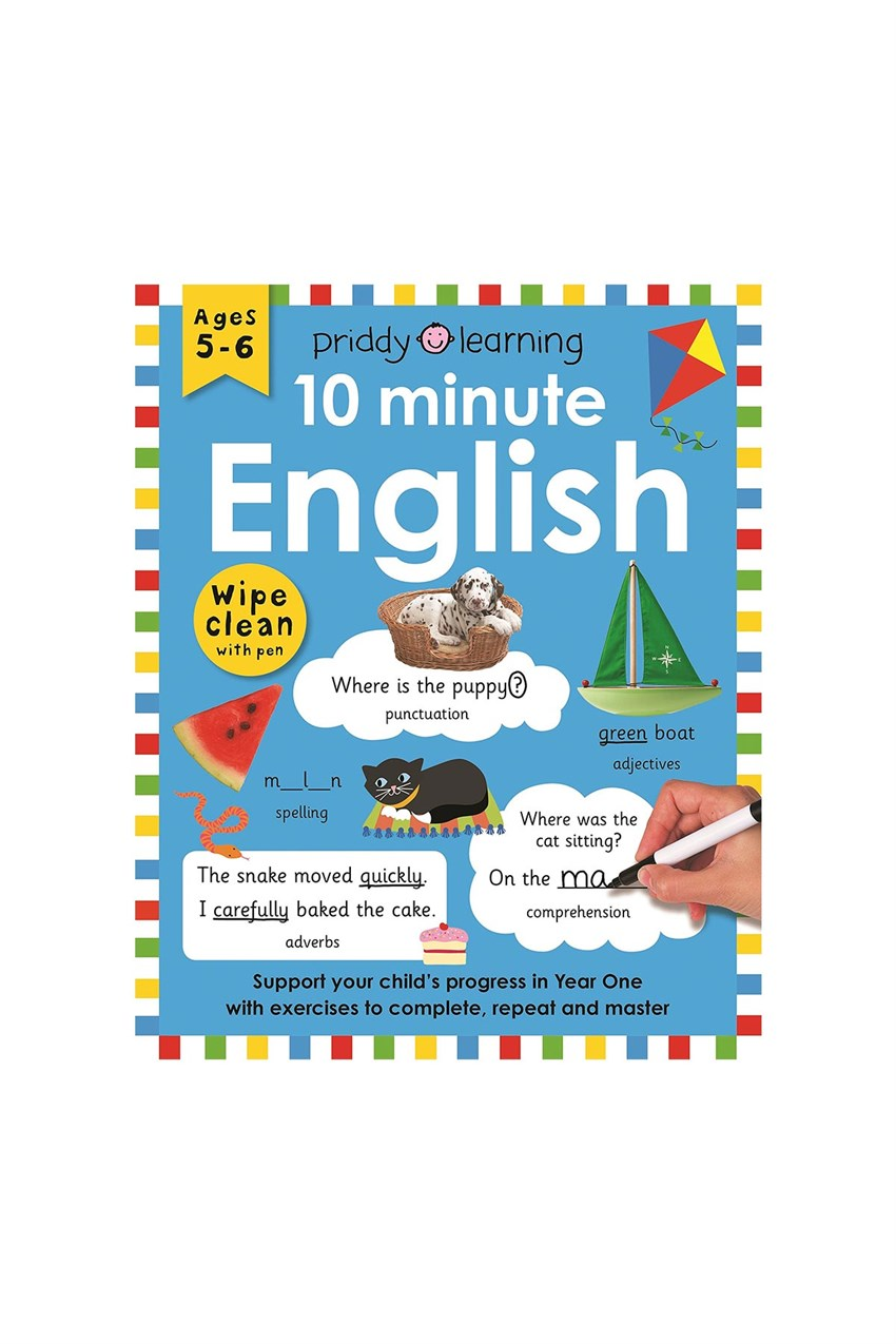 Priddy Books WC Workbook 10 Minute English