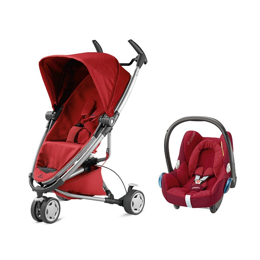 Quinny Zapp Xtra 2 Travel Sistem Bebek Arabası / Red Rumour