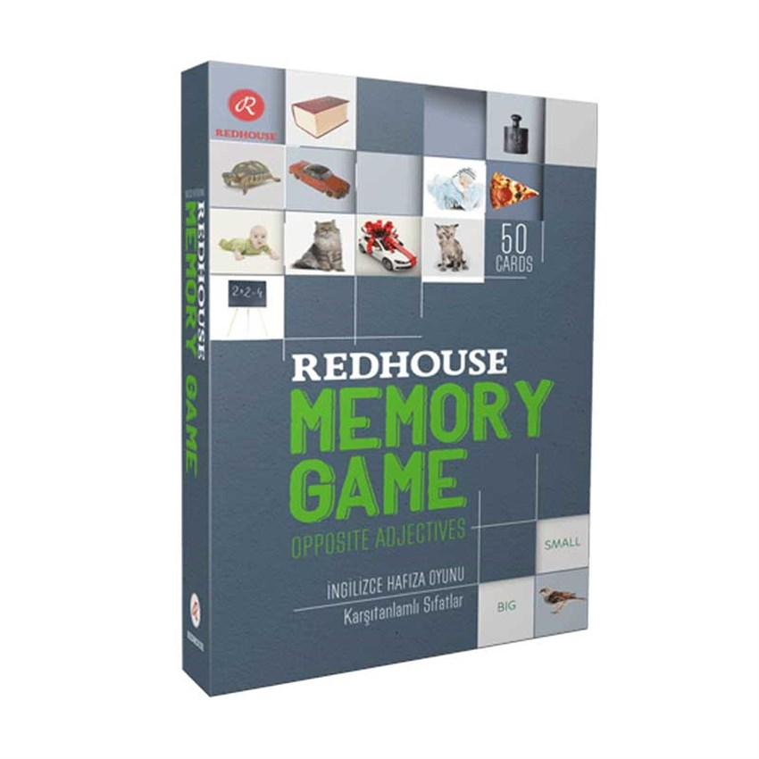 Redhouse Memory Game-Opposite Adjectives