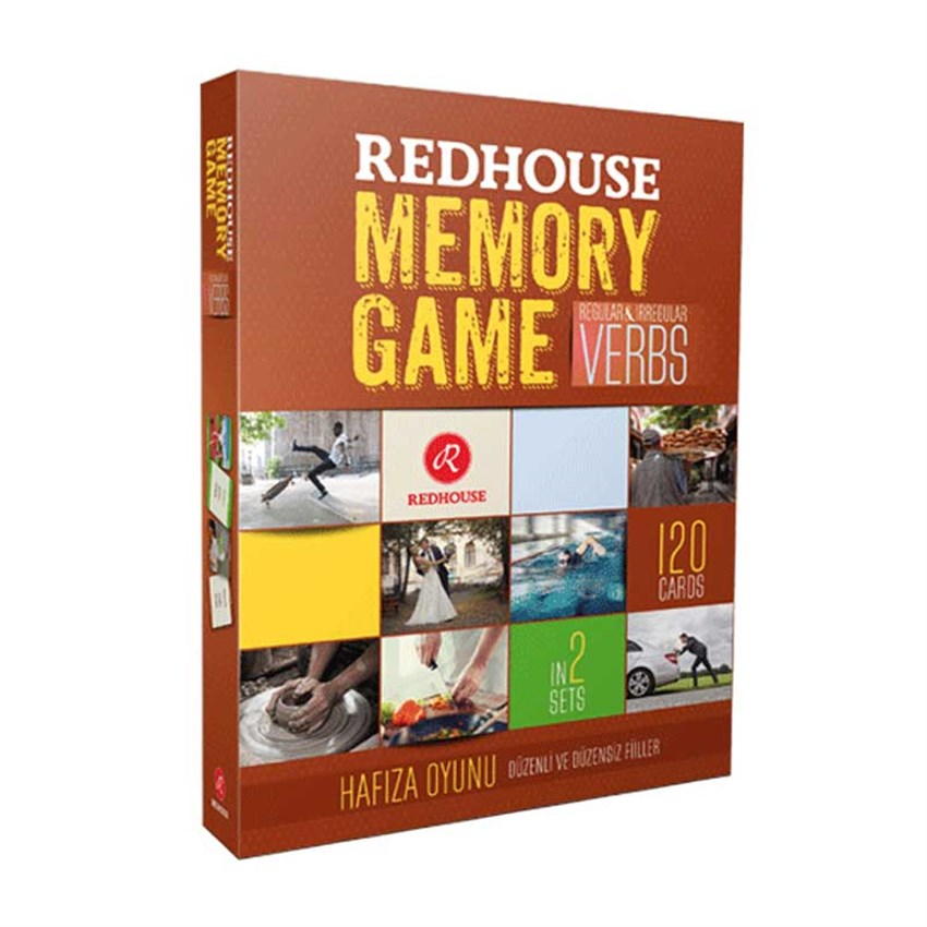 Redhouse Memory Game-Verbs
