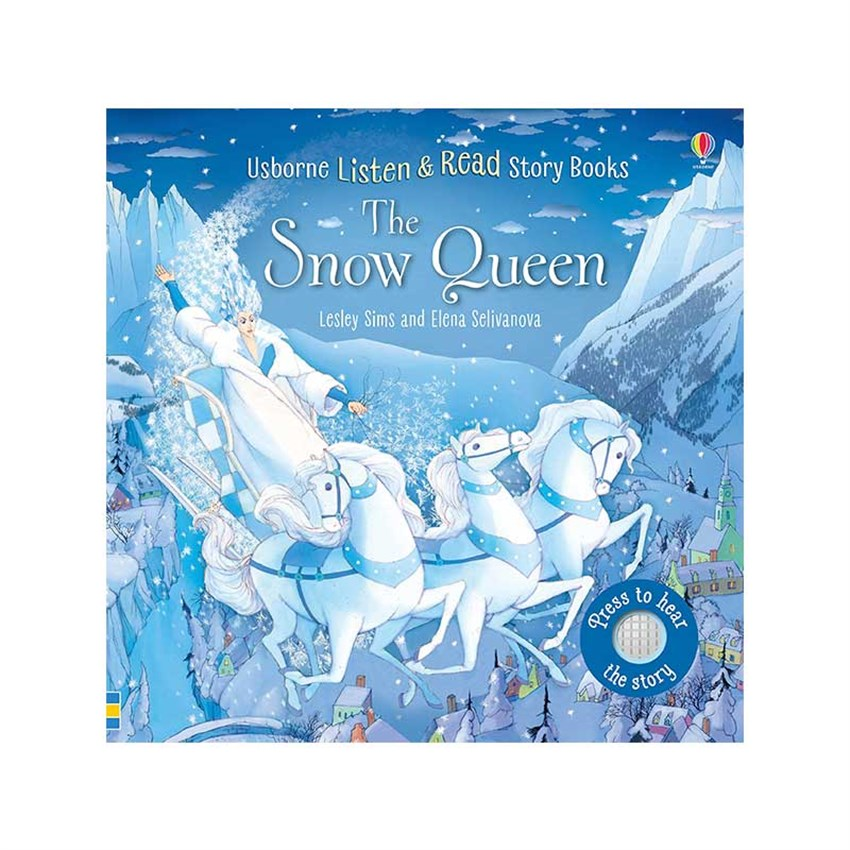 The Usborne The Snow Queen - Listen and Learn Stories