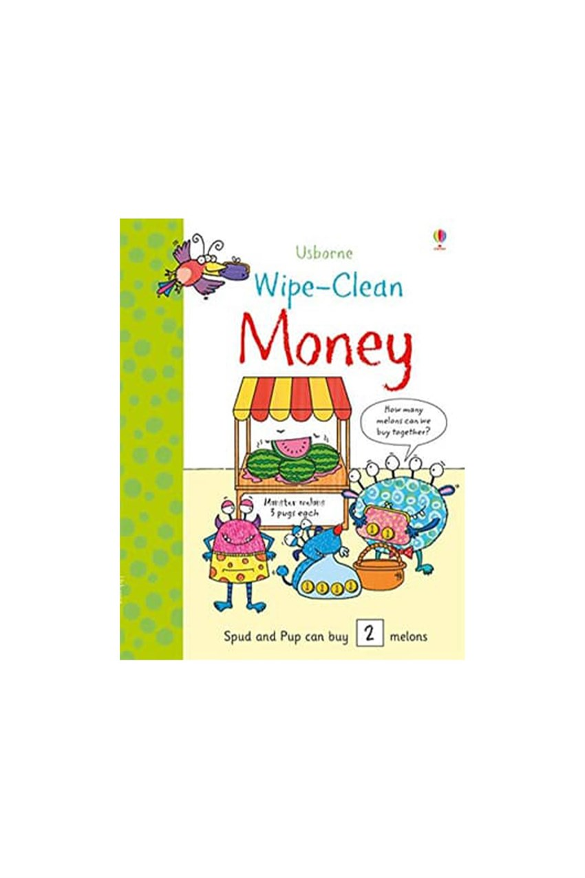 The Usborne Wipe Clean Money