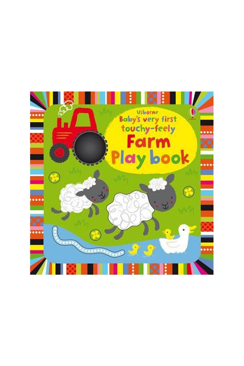 The Usborne BVF Farm Play Book