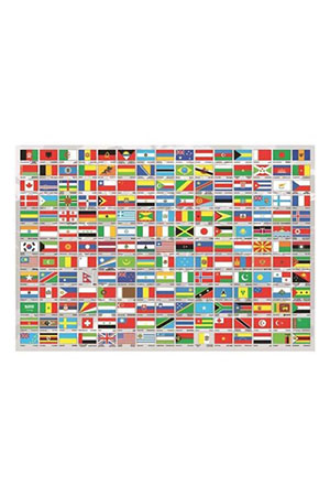 Educa 1500 Parça Puzzle Flags Of The World