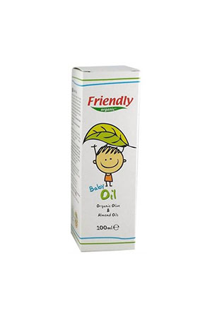 Friendly Organic Bebek Yağı 100 ml