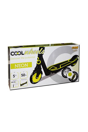 Furkan Toys Cool Wheels Scooter 5 Yaş Neon