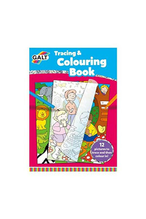 Galt Tracing & Colouring Book 5 Yaş+