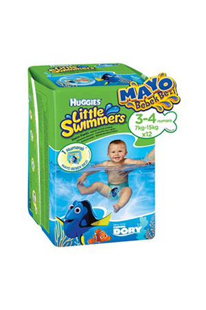 Huggies Little Swimmers 12li Mayo Bebek Bezi 7-15 kg