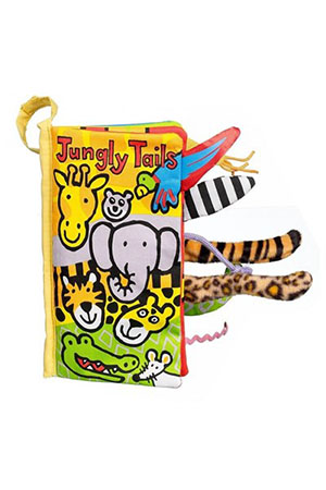 Jellycat Bez Kitap Jungly Tails