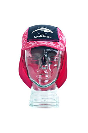 Konfidence Un 50+ Sunsport Hats Navy Pink 0-1 Years