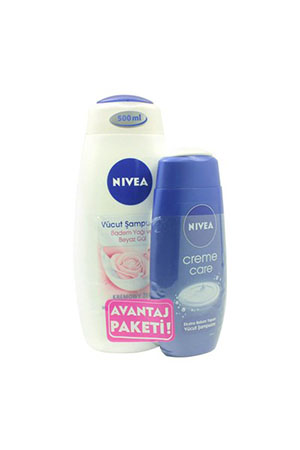 Nivea Duş Harmony 500 Ml+Creme Care 250 Ml