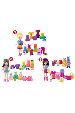 Polly Pocket Polly Moda Seti