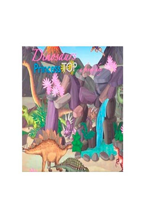 Prıncess Top A Funny Day-Dınosaurs