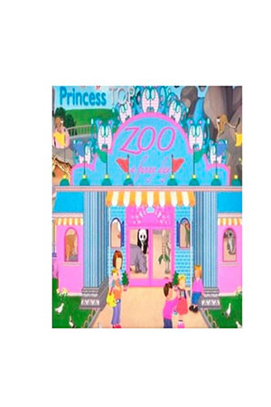Prıncess Top A Funny Day-Zoo