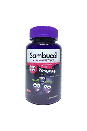 Sambucol Plus Kids Yummies 60 Çiğnemeli