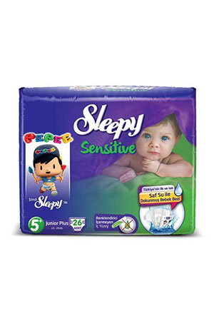 Sleepy Sensitive 5+ Beden Junior 26lı 13-20 kg