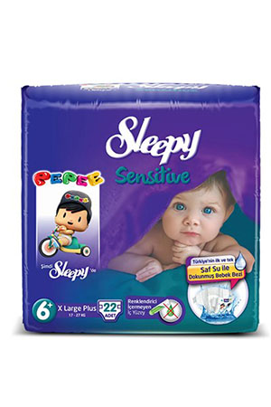 Sleepy Sensitive Pepee XL Plus Jumbo 17-27 kg