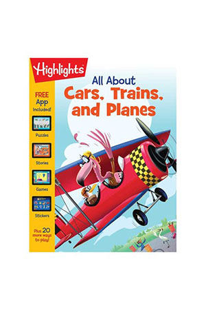 All About Cars Trains Planes
