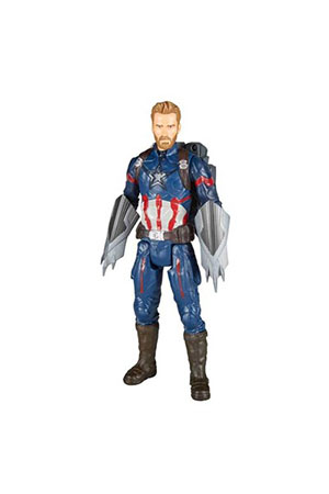 Avengers İnfinity War Titan Hero Power Fx Captain America