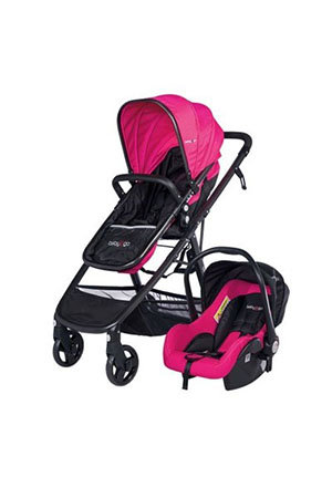 Baby2Go 86032 Escape Puset Siyah/Pembe