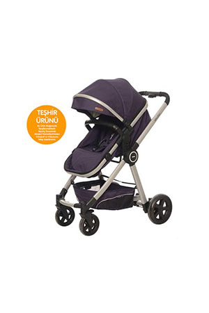 Baby2Go 8033 Power Plus Puset Mor