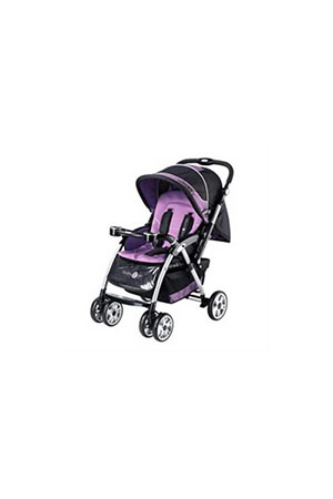 Baby2Go 8602 Carrier Puset Siyah/Mor