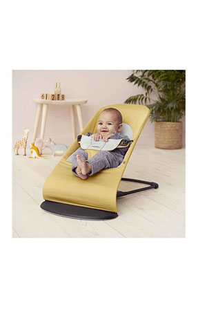 BabyBjörn Balance Soft Ana Kucağı Cotton Jersey / Yellow Grey