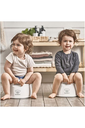 BabyBjörn Eğitici Oturak Smart Potty / White Grey