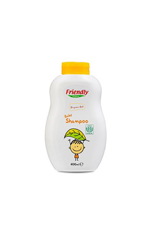 Friendly Organic Bebek Şampuanı - Organik Yulaf 400 ml