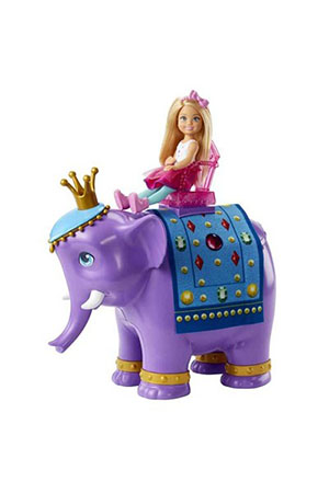 Barbie Dreamtopia Chelsea ve Fil Kral