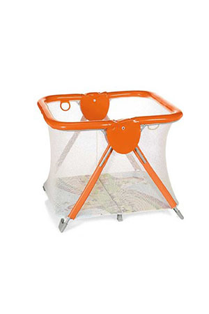 Brevi Cırcus Europa Playpen Red