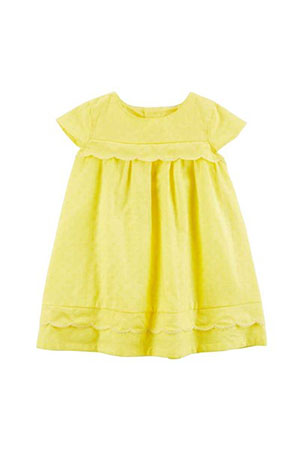 Carters Kız Bebek Elbise-Lemon Collection