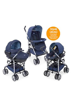 Chicco Trio Sprint Travel Puset Blue