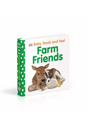 DK - Baby Touch And Feel Farm Friends