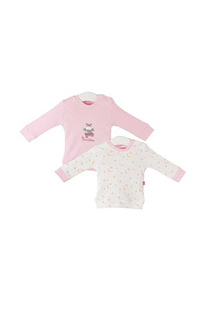 Fisher Price Hippo 2li Sweat Pembe