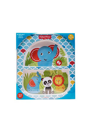 Fisher Price Jungle Bölmeli Mama Tabağı