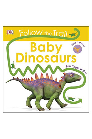 Follow the Trail Baby Dinosaurs